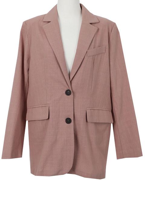 Peach flower jacket