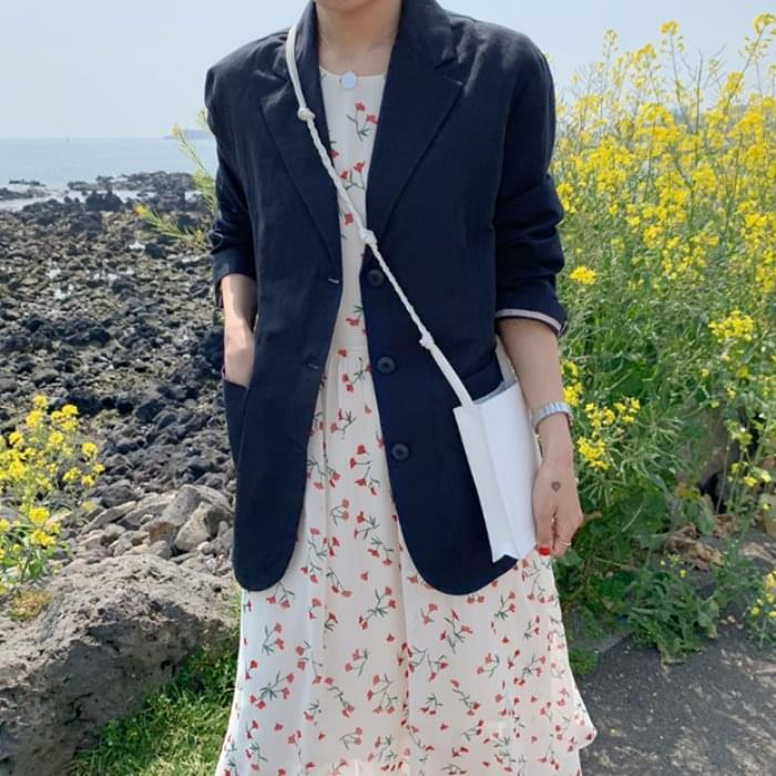MMMM / Relaxed Fit Summer Lamy Jacket