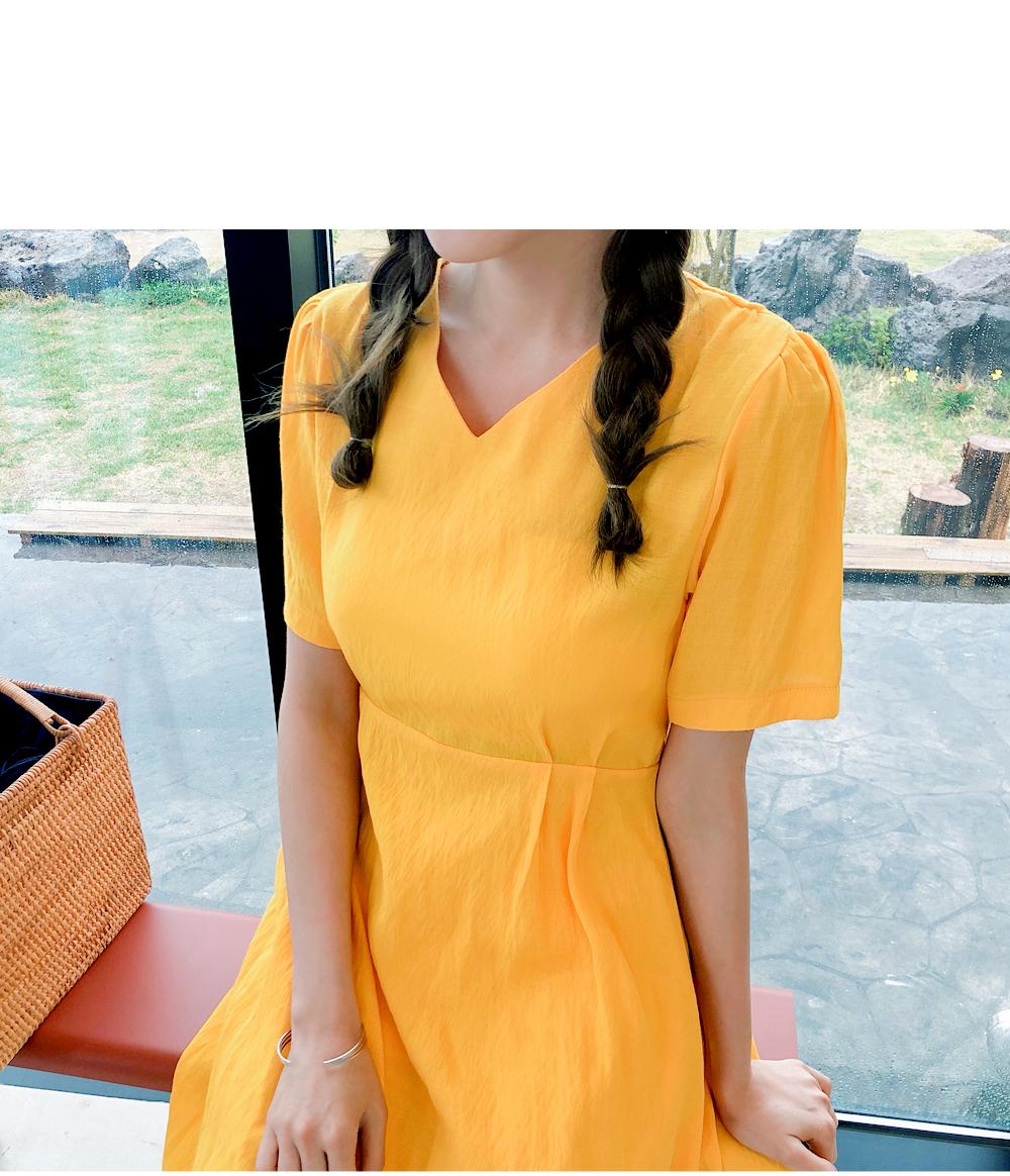 Sweet linen dress