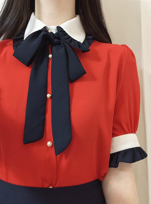 Nose blouse color blouse