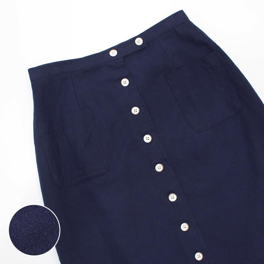 Signal button skirt skirt