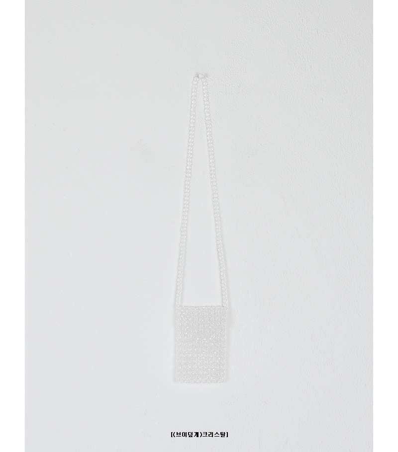 triangle cover crystal bag