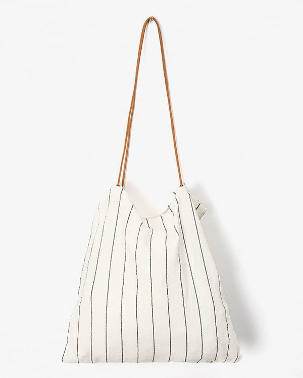 string stripe eco bag