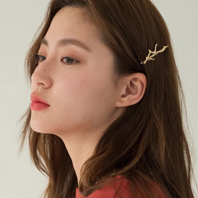 bough shape hair pin