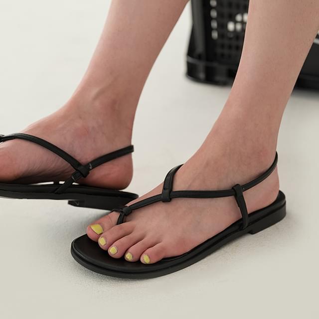 slim flip-flop sandal