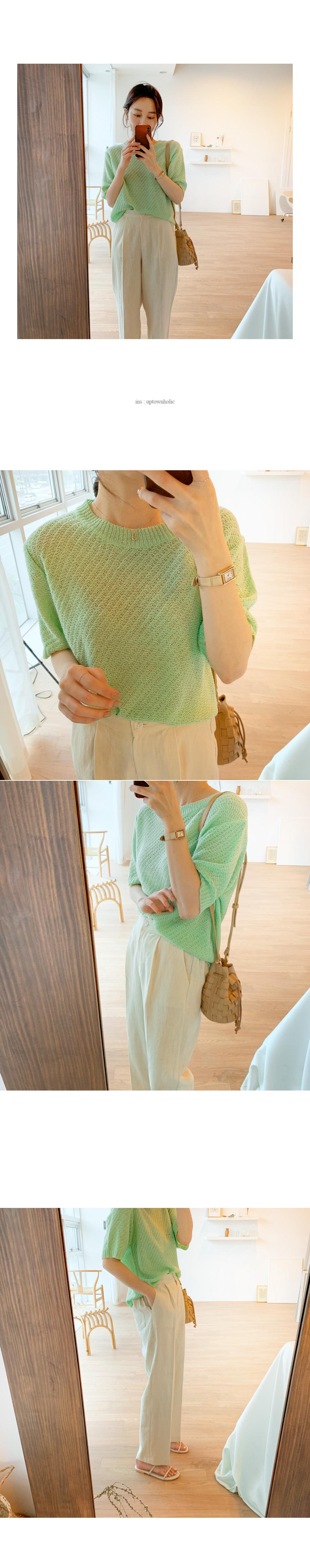 Pokin pastel knit