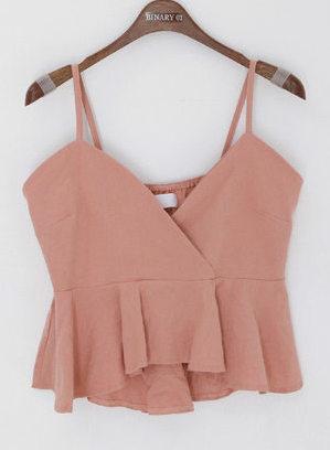Crop kojisashi blouse