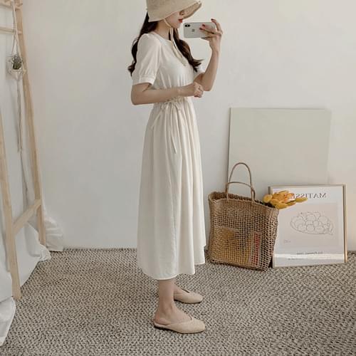 Salon Round Long Dress
