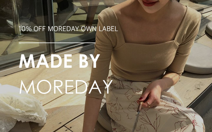10% OFF MOREDAY OWN LABEL