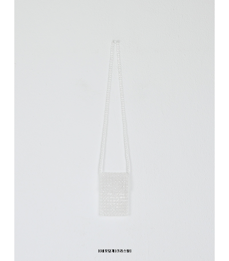square cover crystal bag