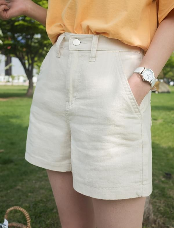 a-line banding shorts