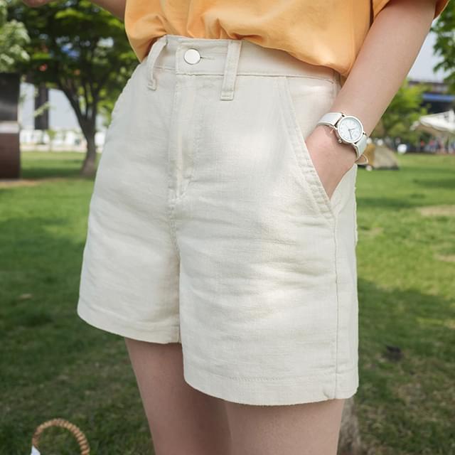 a-line banding shorts