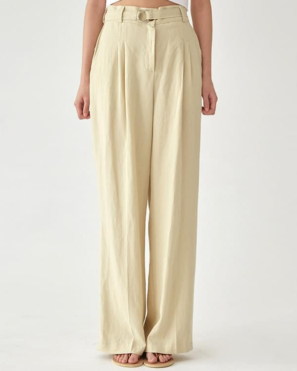 tree wide linen pants (s, m)