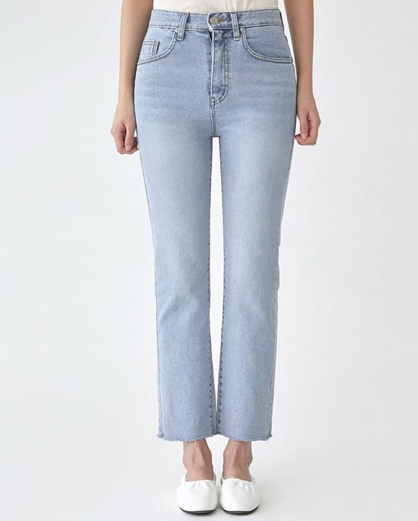 daily light denim pants (s, m, l)