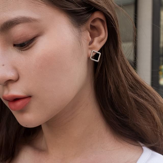 easy square earring
