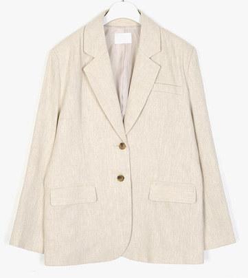 page standard linen jacket