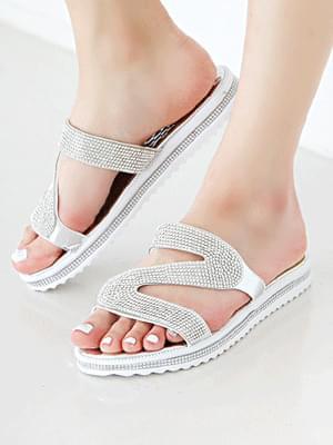 韓國空運 - Etia Slippers 2cm 涼鞋