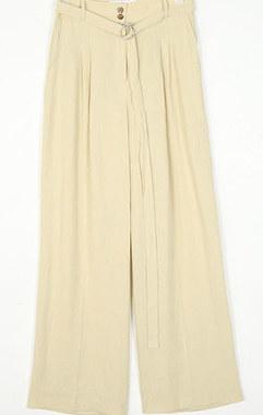 tree wide linen pants