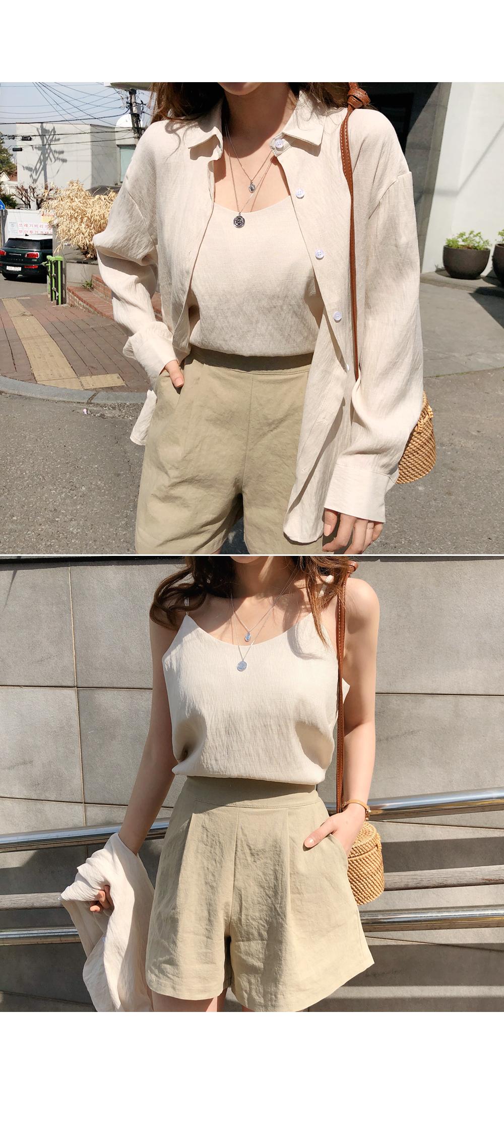 Modern Times Shirt + Sleeveless SET