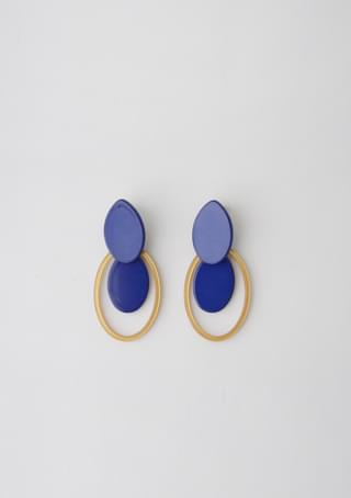 韓國空運 - bright color drop earrings 耳環