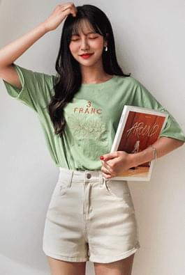 French Embroidery T-Shirt