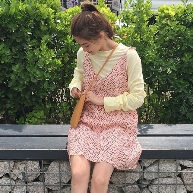 flower pattern sleeveless ops