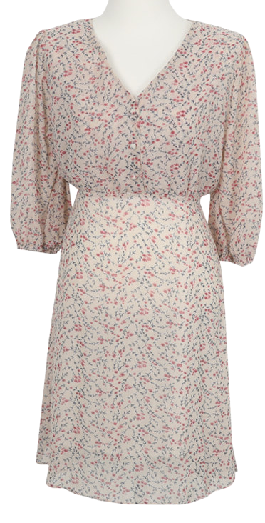 Tweedy Flower Dress