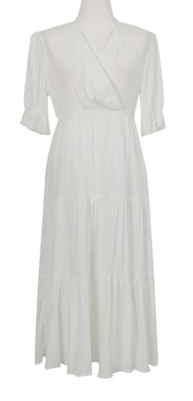 Soi V-Long Dress