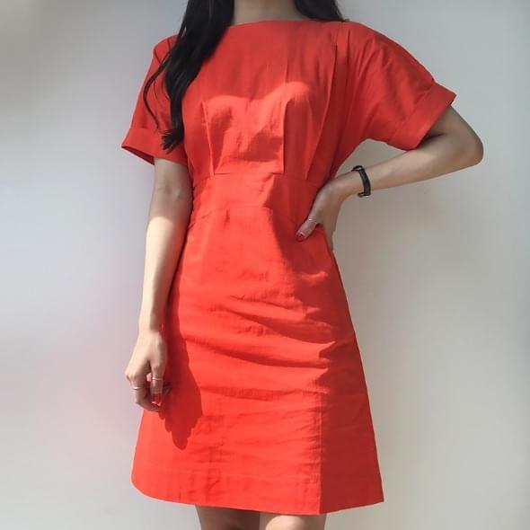 Linen Bending Mini Dress # Order Busting # Real Thug