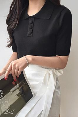 Mini-cut short sleeves