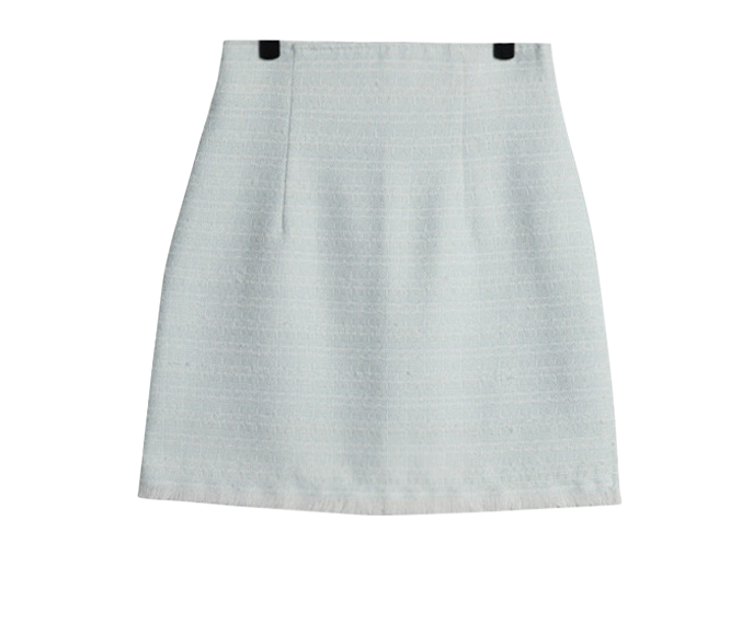 Easel tweed mini skirt
