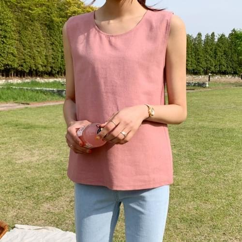 Berry linen nashi blouse