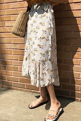 Sasha flower lap skirt