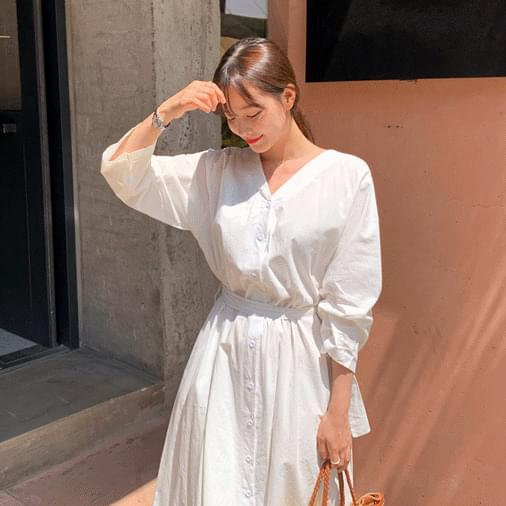 Sunset Pure Flare Long Dress