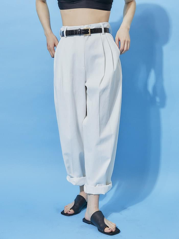 free cotton wide pants - woman