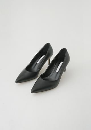 real leather stiletto heel