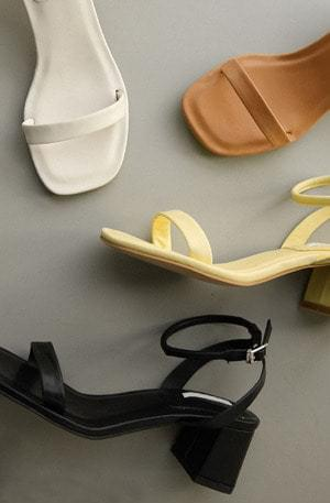 Summer Color Middle Sandals
