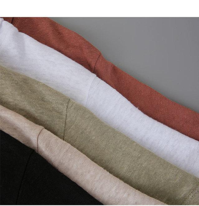 Monday- Linen Polo