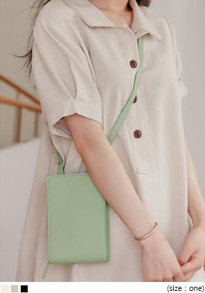 MELOA SQUARE LEATHER MINI BAG