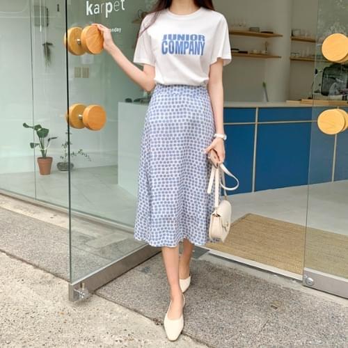Meisum T-shirt skirt set