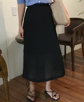 Winkle Long skirt