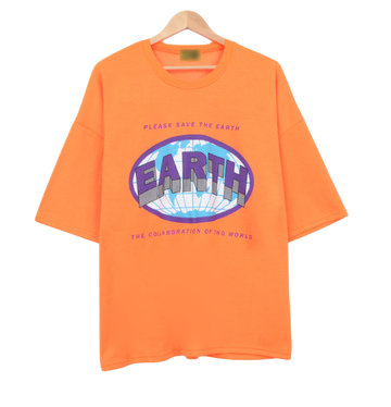 Two World Earth Short Sleeve T