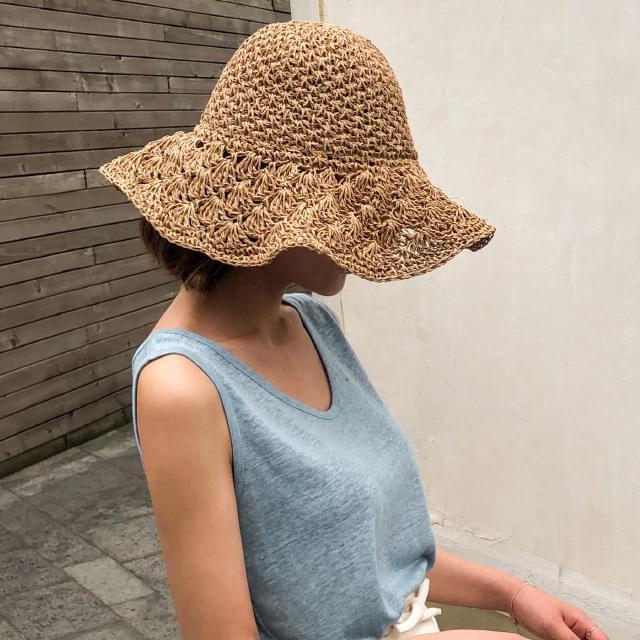 natural mood bucket hat