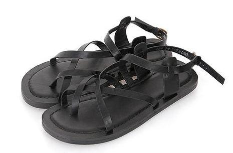 Queens strap sandals