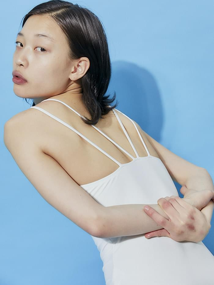 back string monokini (4 color) - woman
