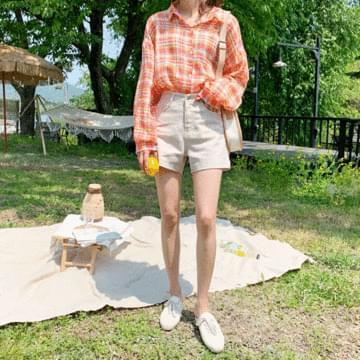 Ip linen short pants