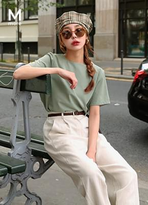 Two way short sleeve blouse