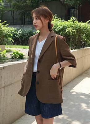 Short-sleeved jackets ot