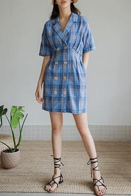 Checked Summer Dress