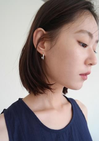 quarter detail earrings